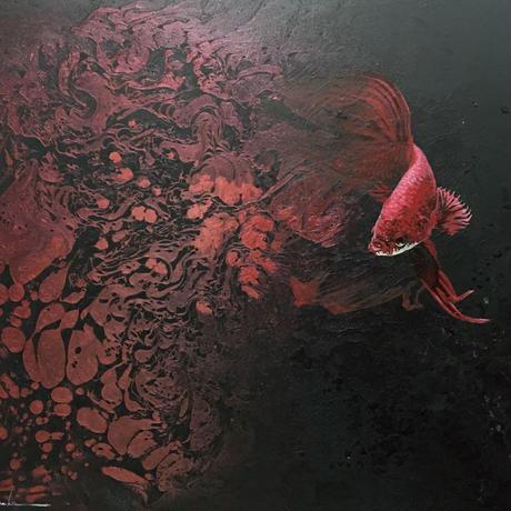 Water Flower Ⅰ【絵画10号】