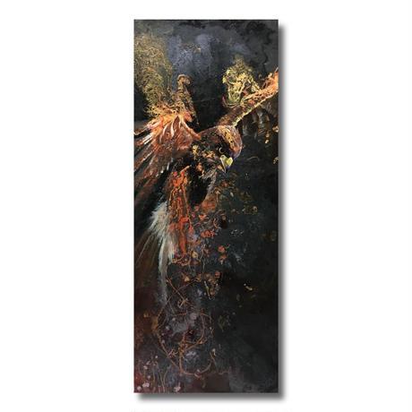 Fire bird【絵画665×243 】