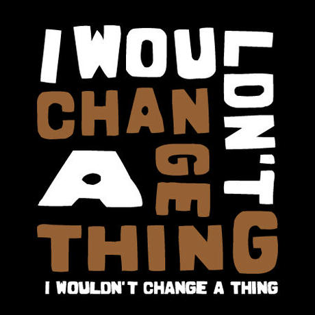 I Wouldn't Change A Thing