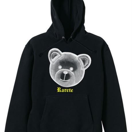 RARETE (ラルテ)  テディベア  X線 パーカー ブラック