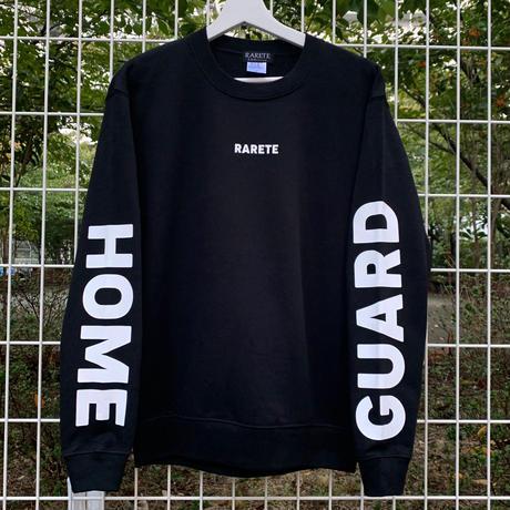 RARETE (ラルテ)   HOME GUARD ブラック トレーナー