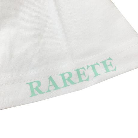RARETE (ラルテ) THREE & CS (三密) ビジョナリーミント  ホワイト  Tシャツ