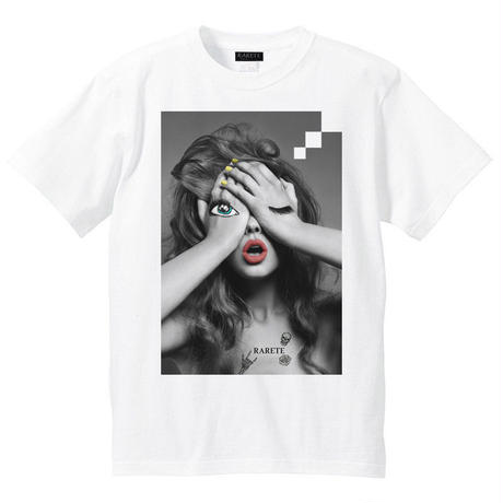 RARETE (ラルテ) GIRL  make Tシャツ ホワイト