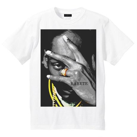 RARETE (ラルテ)   スヌープドッグ pose Tシャツ ホワイト