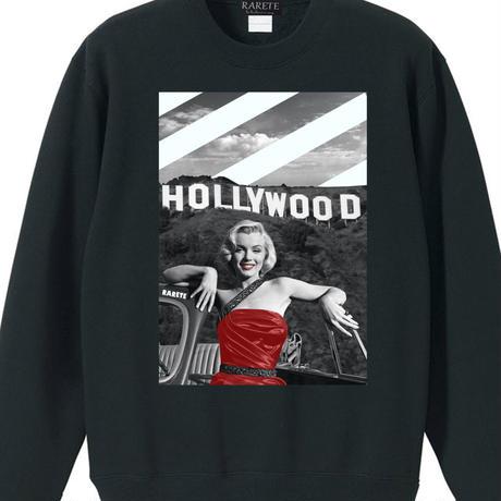 RARETE (ラルテ) Hollywood マリリンモンロー  トレーナー ブラック