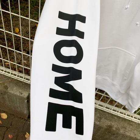 RARETE (ラルテ)  HOME GUARD  ホワイト  (被りパーカー)