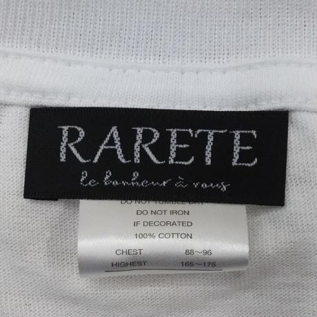 RARETE (ラルテ)  入手困難  マリリンモンロー 構え 銃  Tシャツ ホワイト  星柄 star