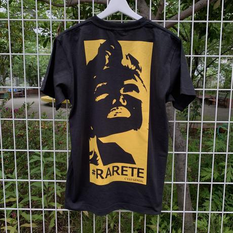 RARETE (ラルテ)  マリリンモンロー イエロー  Tシャツ  ブラック