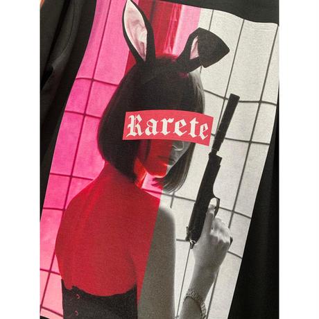 RARETE (ラルテ)  バニー PINK BOXROGO  長袖Tシャツ