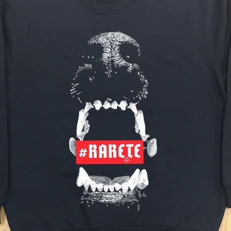 RARETE (ラルテ)  dog   nose mouth(裏パイル) ブラック