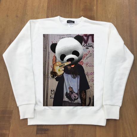 RARETE (ラルテ)  Panda  tatoo ホワイト 星柄 star(裏パイル)