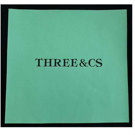 RARETE (ラルテ)  THREE CS (三密)ビジョナリー ミント BOX  Tシャツ ブラック