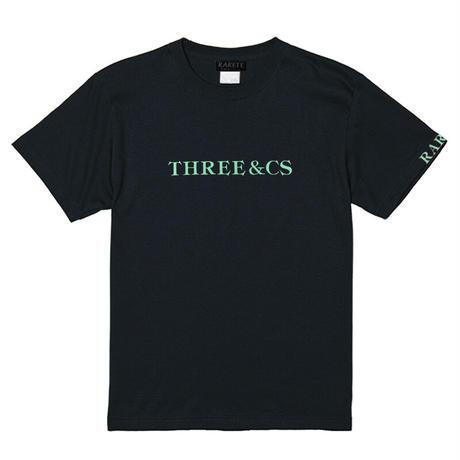 RARETE (ラルテ) THREE & CS (三密) ビジョナリーミント  ブラック  Tシャツ