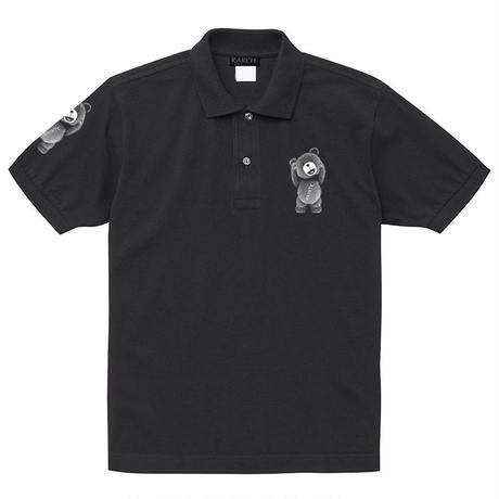 RARETE (ラルテ) テディベア 首とれた! ポロシャツ ブラック