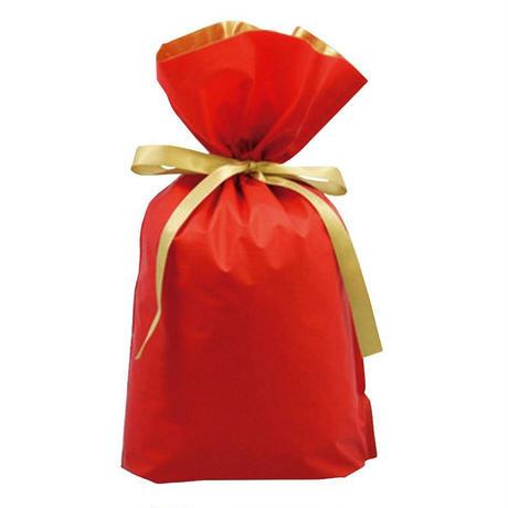 プレゼント包装 レッド/ブルー/オレンジ