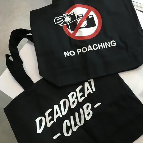 No Poaching Tote Bag / Designed by Ed Templeton