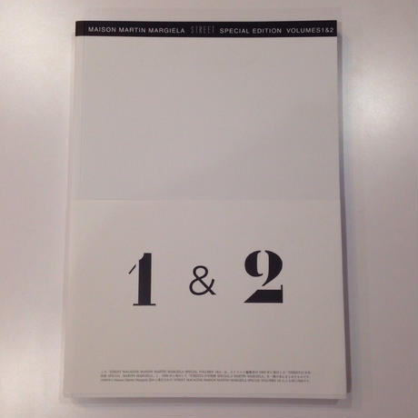 MAISON MARTIN MARGIELA STREET SPECIAL EDITION VOLUMES 1&2