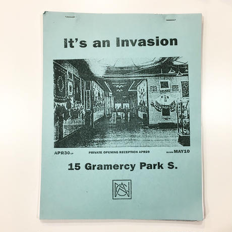 """IT'S AN INVASION"" CATALOG"