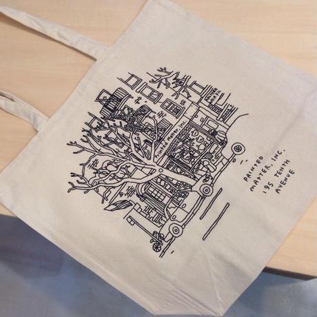 Printed Matter Tote Bag By Jason Polan