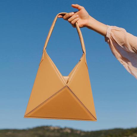 4色 折り紙BOXハンドバッグ