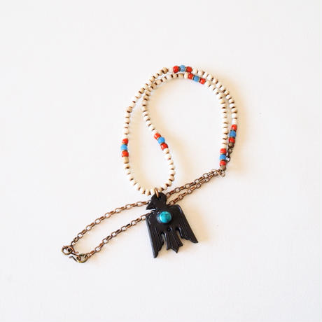 Thunderbird×White Seed beads