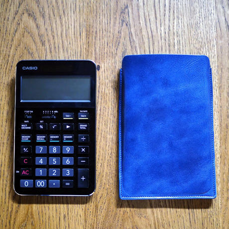 CASIO CALCULATOR S100専用CASE RH-CSC72JW  blue