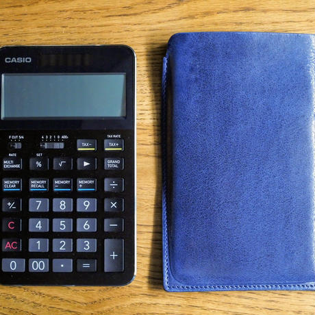 CASIO CALCULATOR S100専用CASE RH-CSC72  blue