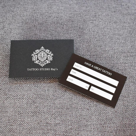 TATTOO GIFT CARD -just for you-