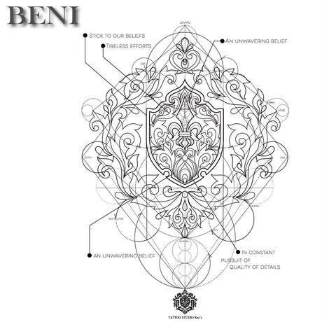 BR2019  BENI design T-shirts