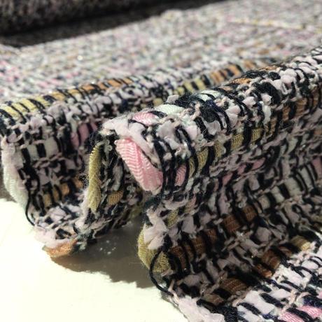 カラフルかすり糸のファンシーツイード KT