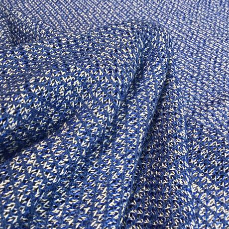 ふんわり変わり織 ブルー CL