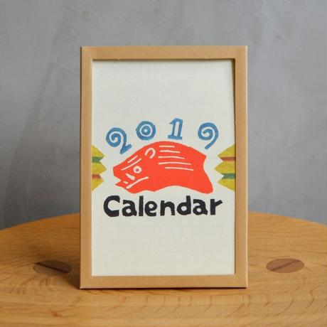 日本の手仕事カレンダー2019【卓上型】