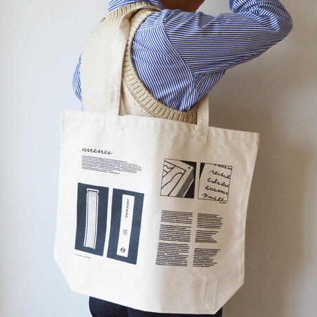 "TOTE BAG "" BOOK """
