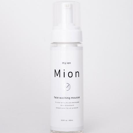 会員特別価格【Mion洗顔】石鹸ゼロ!イオンで洗う新発想洗顔フォーム 電解水使用