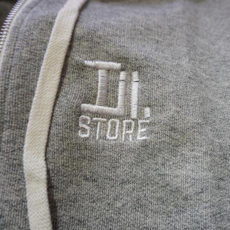 Iii.STORE ZIP スリーアイスクエアパーカー(グレー)
