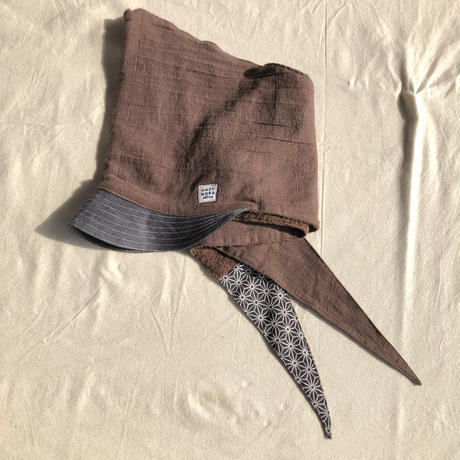 zukin cap(パイル生地)