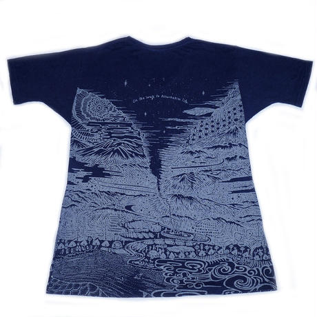 Altanative Teppo T-shirts Navy Hemp