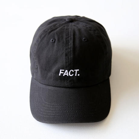 FACT. / Logo Type 6Panel Cap (ユニセックス)