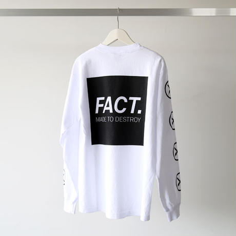FACT. / Box Logo L/S Tee (ユニセックス)