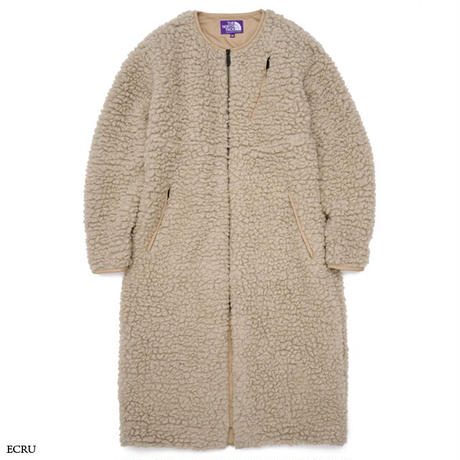 THE NORTH FACE PURPLE LABEL / Wool Boa Fleece Field Long Coat NAW2050N
