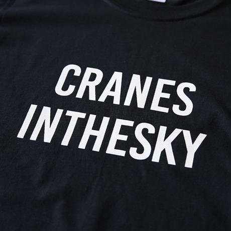 "REAL TEMPO S/S TEE ""CRANES INTHESKY"""