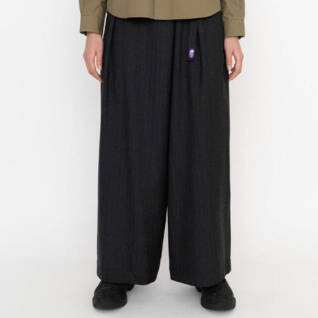 THE NORTH FACE PURPLE LABEL / CORDURA® Combat Wool Plaid Wide Pants NTW5062N