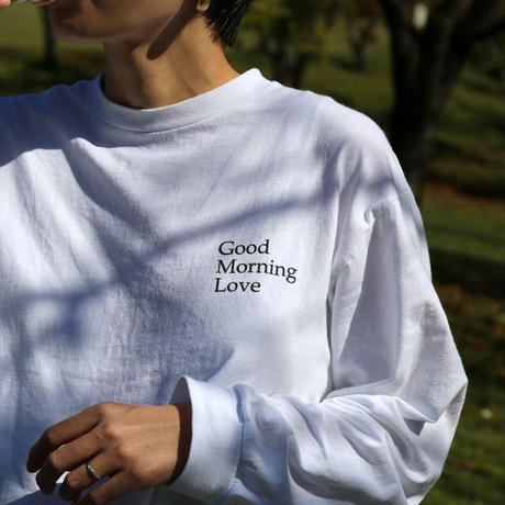 "REAL TEMPO / ORIGINAL L/S TEE ""Good Morning Love"""