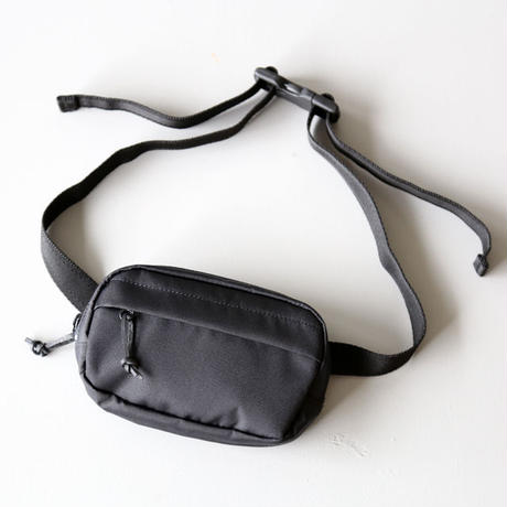 UNIVERSAL PRODUCTS / CORDURA SMALL WAIST BAG [BLACK]
