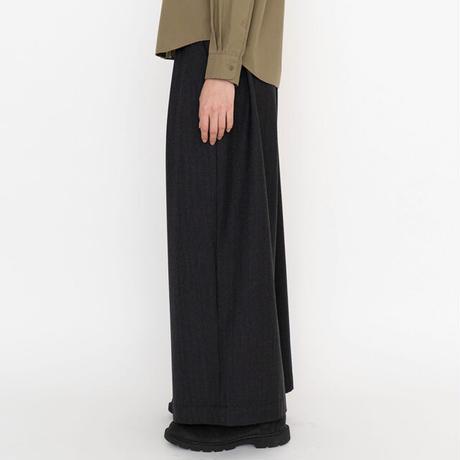 THE NORTH FACE PURPLE LABEL / CORDURA® Combat Wool Plaid Wide Pants NTW5062N