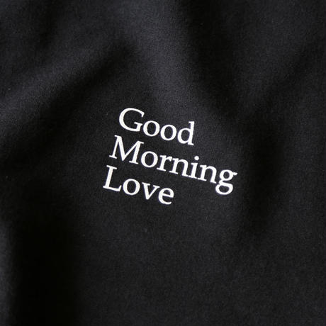 "REAL TEMPO / ORIGINAL CREW SWEAT ""Good Morning Love"""