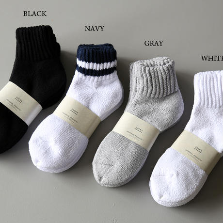 【再入荷】 UNIVERSAL PRODUCTS / 3P PILE SOCKS