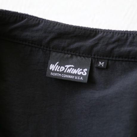 WILDTHINGS (ワイルドシングス) / ポーラテック バンドカラーシャツ WT21138N