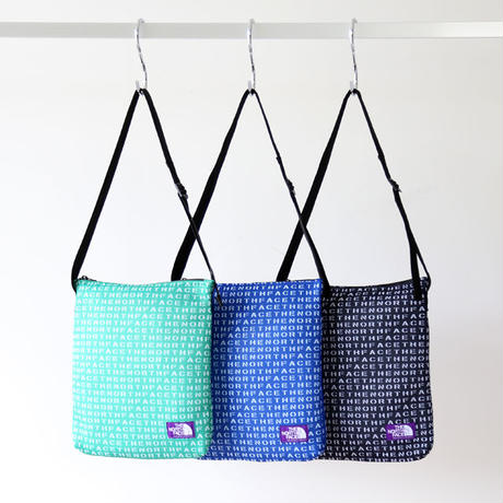 THE NORTH FACE PURPLE LABEL / Logo Print Mesh Shoulder Bag NN7922N