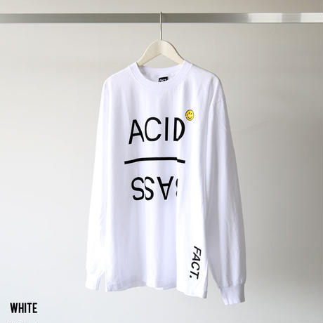 FACT. / Acid Base L/S Tee (ユニセックス)